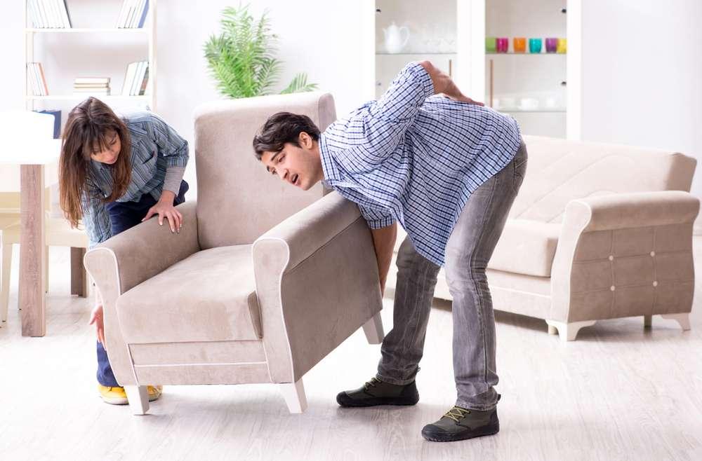 رعایت نکاتی برای جلوگیری از کمر درد در هنگام اسباب کشی