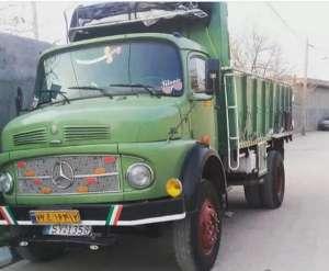 ظرفیت بار کامیون بنز 911